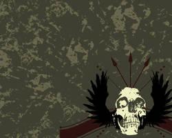 Winged Skull by legobrickmaster