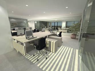 Interior Kebon Sirih Office by charamone