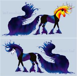 #1437G Zaphira Foal Design by DamienMuerte