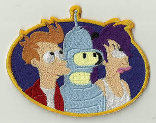 Futurama Embroidered Patch by Spaceguy5