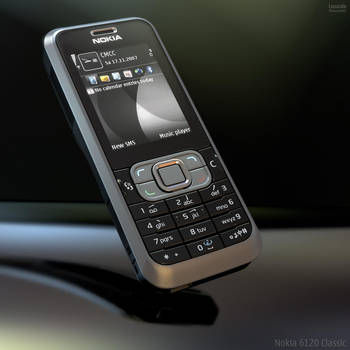 Nokia 6120 Classic by Lowcola