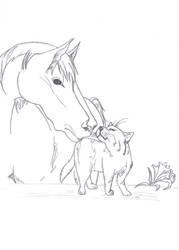 Animal Pairings by Keelian-Brett12
