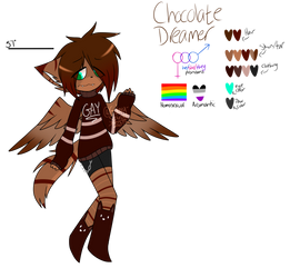 Chocolate Dreamer Ref by Starry-CrystaIs