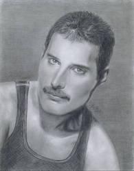 Freddie Mercury by LatinPrincess17