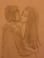 love kiss by linaaventurera