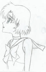Sailor mercury by linaaventurera