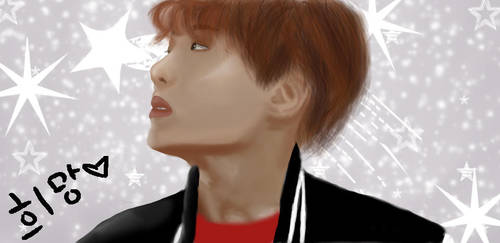 BTS Jhope Fan Art by Flopflopflo
