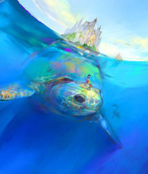 Turtle City by manillalu