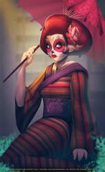 Geisha Catrina by DasGnomo