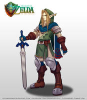 TLOZ The Two heroes Link Kokiri Concept by DasGnomo