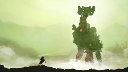 Breath of the Colossus by DasGnomo