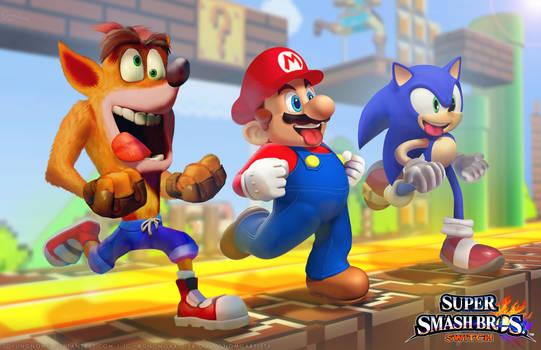 Super Smash Brothers ULTIMATE - E3 2018 by DasGnomo