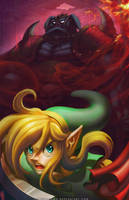 A Link to the Dark World by DasGnomo