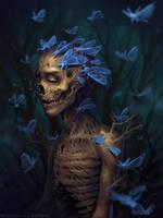 Moth monster by schastlivaya-ch