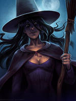 Witch by schastlivaya-ch