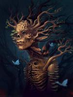 Forest monster by schastlivaya-ch