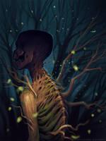 Fireflies by schastlivaya-ch