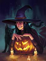 Halloween fever by schastlivaya-ch