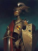 Knight with a hot heart by schastlivaya-ch