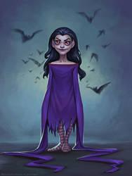 Joycelyn, the vampire by schastlivaya-ch