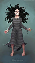 Bellatrix Lestrange by schastlivaya-ch