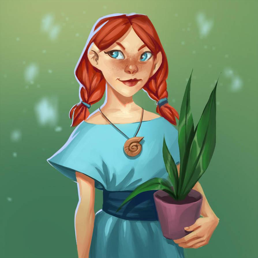 Cute girl by schastlivaya-ch