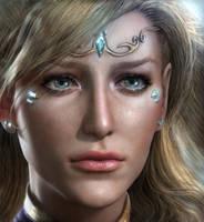 Portrait of Sovanna by kolakis