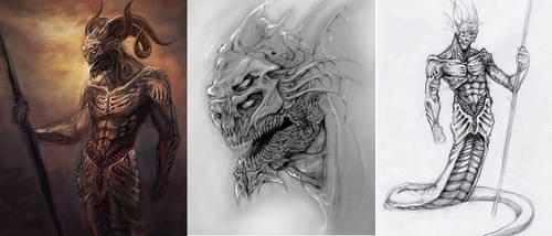 Demon concepts by kolakis