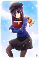 Katawa Shoujo - Hanako [Commission] by dmy-gfx