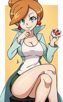 Professor Juniper - Pokemon by dmy-gfx