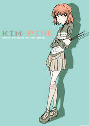 Kim Pine fanart by Nicohitoride