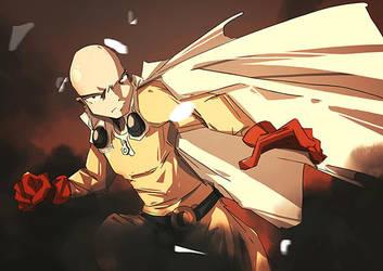One Punch Man fanart. by Nicohitoride