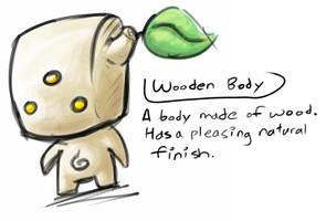 Wooden body by ben-hurr