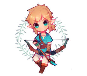BoTW Link Chibi by jichuux