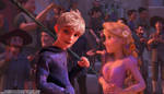 OTP! Rapunzel/Jack Frost by angeelous-dc