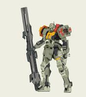 Buster Gundam 052 by wdy1000