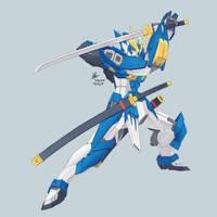 XRMS-024 Bushido Gundam by wdy1000