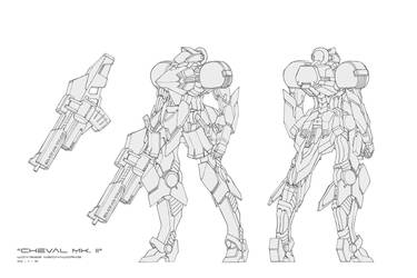 Chevall Mk.II by wdy1000