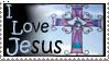 I Love Jesus Stamp by christians