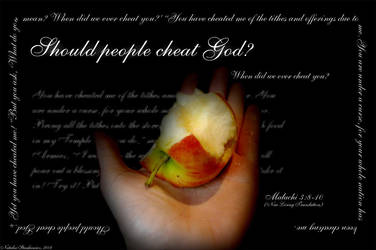 Malachi 3:8-10 by christians