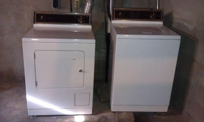 New Home 8 of 8: Washer and Dryer by Sonikku-Otaku
