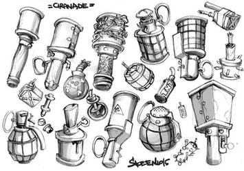 granade by SkeeNLangly