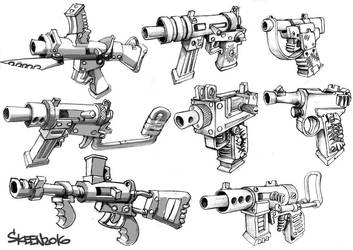 Guns5 by SkeeNLangly