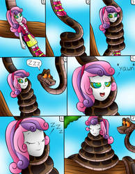 (commision) kaa and sweetie belle EG page 3 by jerrydestrtoyer