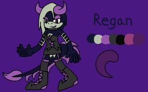 Regan the Toxic Dragon Ref by BluethornWolf