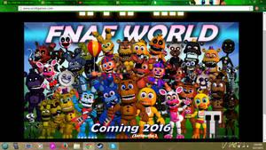 FNAF WORLD by BluethornWolf
