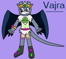 Vajra the dragoness by BluethornWolf