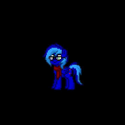 Johnny pony by BluethornWolf
