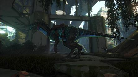Darcy Indominus rex by BluethornWolf