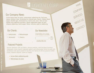 Light Fall Corporate Flash by pixelbudah